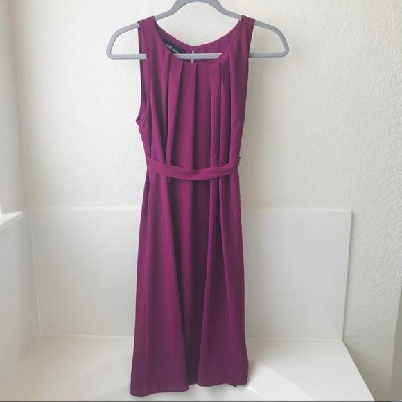 Dresses & Skirts - Beautiful berry/magenta dress (S)